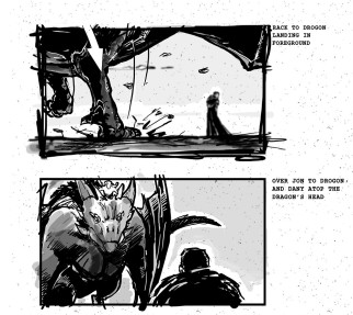 Game of Thrones storyboards 01