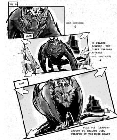 Game of Thrones storyboards 02