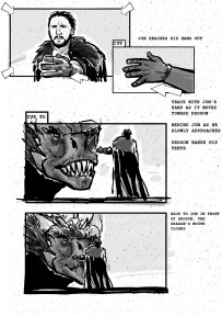 Game of Thrones storyboards 04