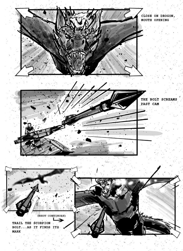 Game of Thrones storyboards 06