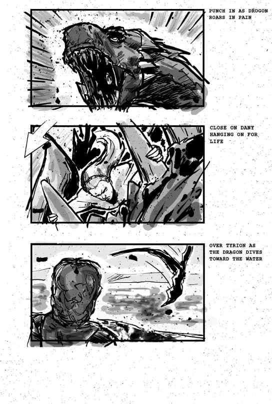 Game of Thrones storyboards 07